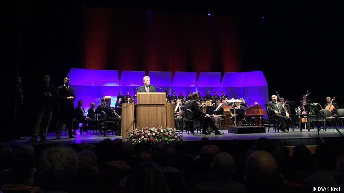 Joachim Gauck besucht die Oper - Foto: DW/K. Kroll