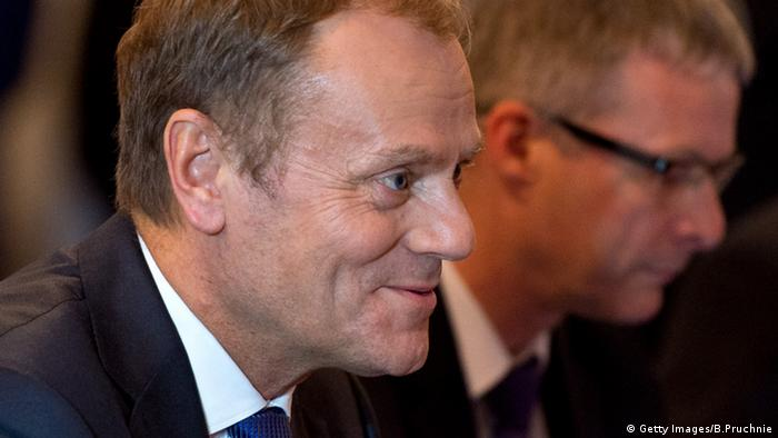 Donald Tusk Porträt (Getty Images/B.Pruchnie)