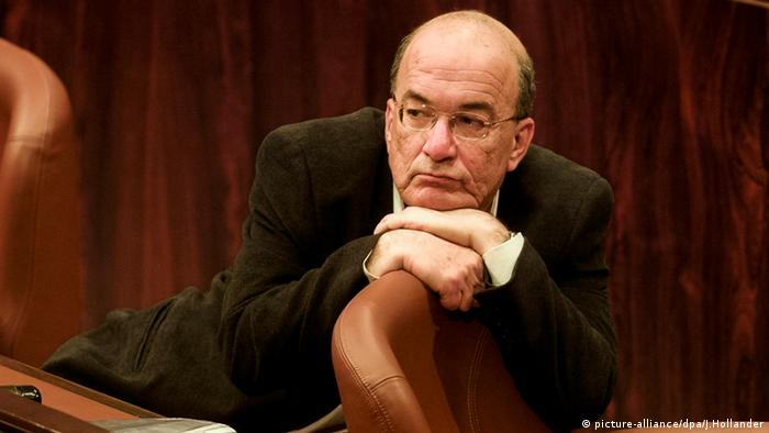 Yossi Sarid Politiker Parlament Knesset Israel Jerusalem 2000