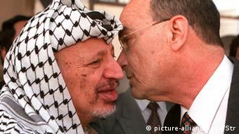 Yossi Sarid Yasser Arafat