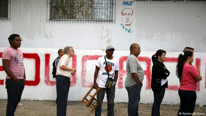 Venezuela Wahlen Caracas