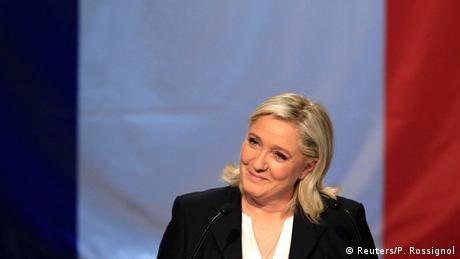 Frankreich Erste Runde der Regionalwahlen 2015 Marine Le Pen (Reuters/P. Rossignol)