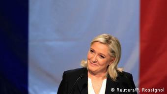 Frankreich Erste Runde der Regionalwahlen 2015 Marine Le Pen