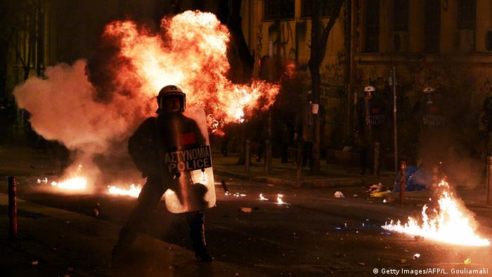 Unruhen in Athen (Foto: Getty Images)