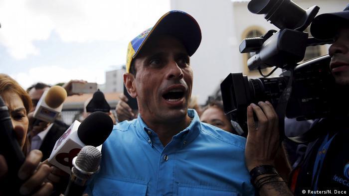 Venezuela Wahlen Henrique Capriles