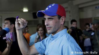 Henrique Capriles Radonski ha sido candidato presidencial de la oposición unificada en dos ocasiones.