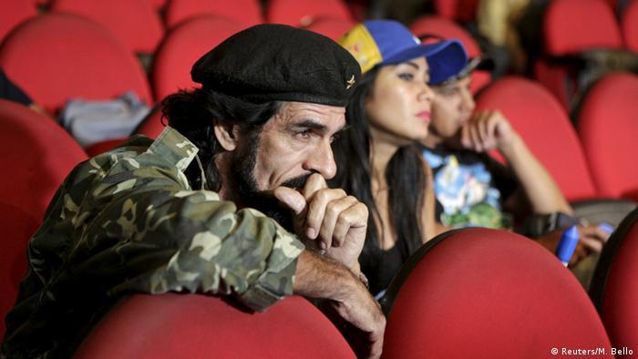 Venezuela Wahlen Reaktionen der Unterstützer vom Präsident Maduro