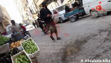 Syrien IS-Mitglied in Raqqa