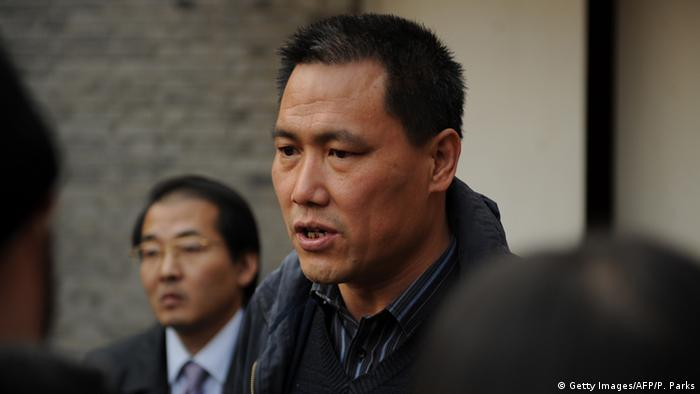 Chinese human rights lawyer Pu Zhiqiang