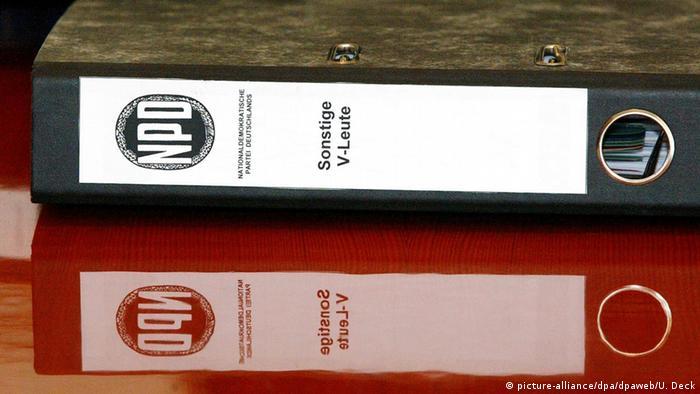 Deutschland Bundesverfassungsgericht Verfahren NPD
