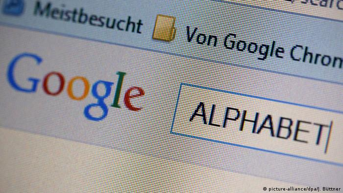 Google search for Alphabet