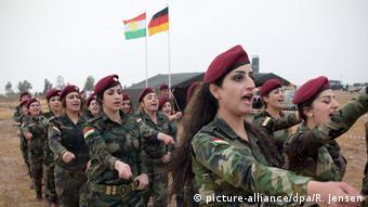 Irak Erbil Peschmerga Ausbildung