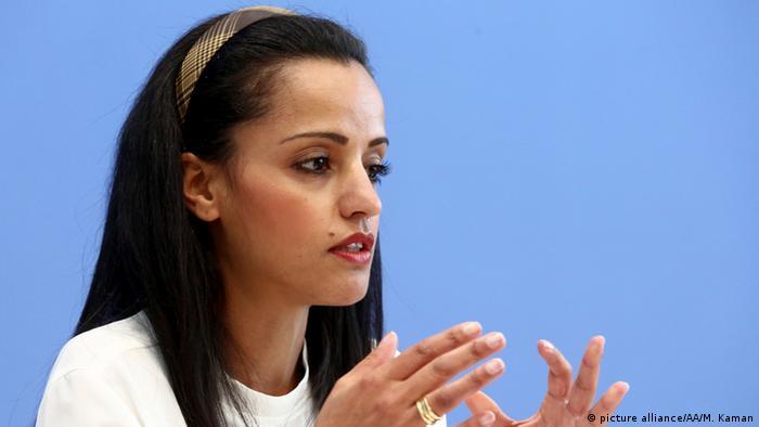 Deutschland Pressesprecherin Sawsan Chebli