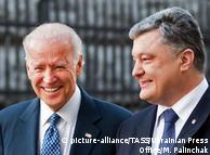Джо Байден (л) та Петро Порошенко