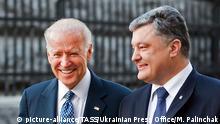 Ukraine Kiew Joe Biden Poroschenko