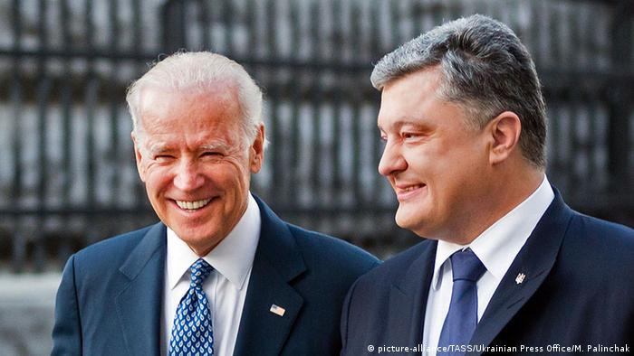 Джо Байден та Петро Порошенко у грудні 2015 року