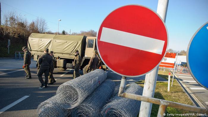 Австрійці посилюють захист кордону зі Словенією