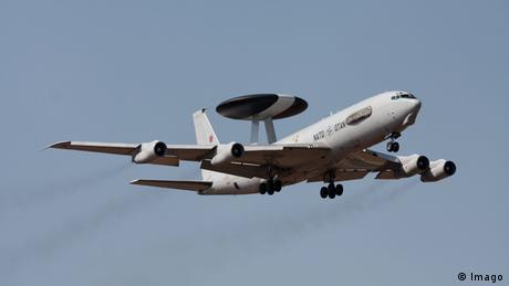 Aufklärungsflugzeug Boeing mit AWACS