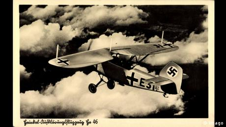 Aufklärungsflugzeug Heinkel Doppeldecker