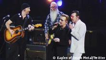 Eagles of Death Metal an der Seite von U2 in Paris aufgetreten