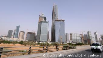Один из районов Эр-Рияда