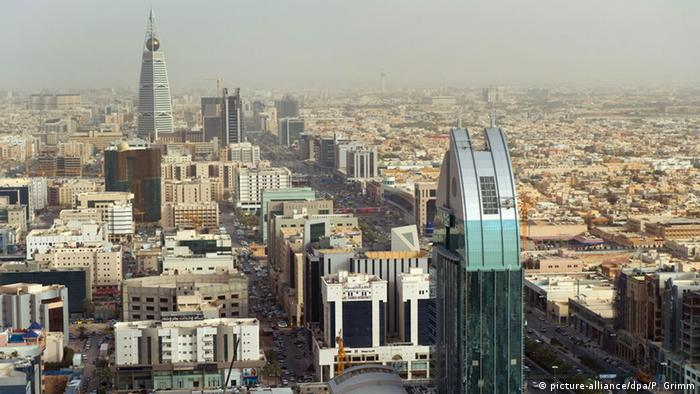 The Saudi capital Riyadh