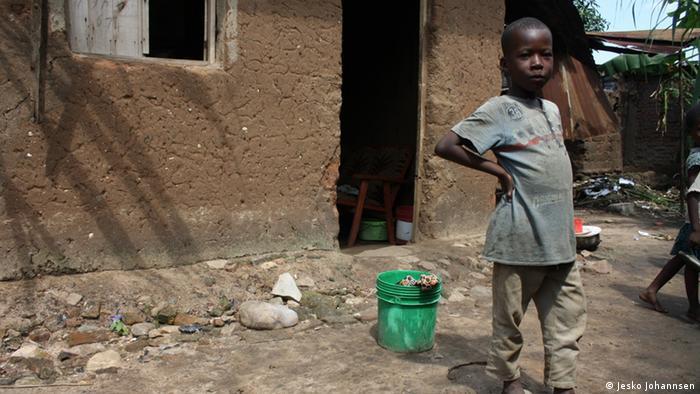 Afrika Kinder in Burundi