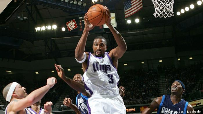 USA Basketballspieler Shareef Abdur-Rahim