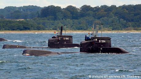 Deutschland U-Boote für Kolumbien