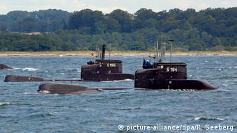 Submarinos alemanes para Colombia.