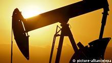USA Ölfeld in Oklahoma Symbolbild Ölbranche zittert weiter