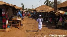 Guinea-Bissau Straßenmarkt Frauen
