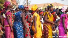 Guinea-Bissau Initiationsfeier Frauen