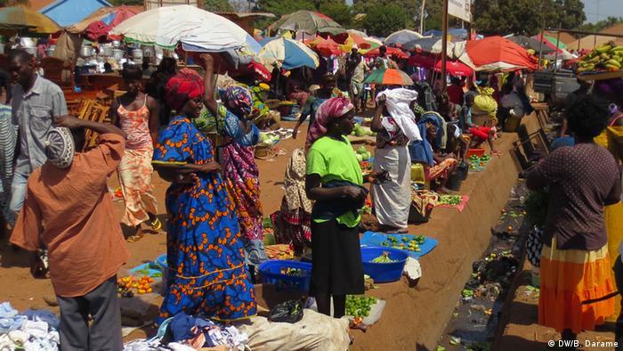 Guinea-Bissau Großmarkt in Bissau