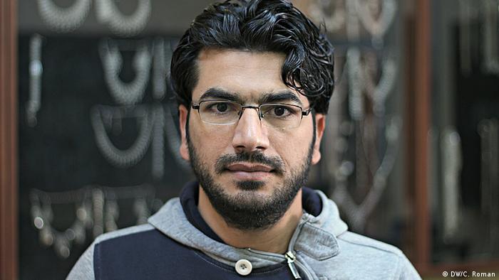 Bayram, kurdischer Silberschmied in der Stadt Mardin (Foto: Christian Roman)