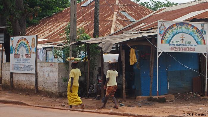 Guinea-Bissau Pfingstkirche in Bissau