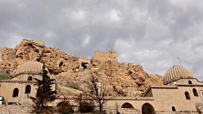 Die alte Festung in der türkischen Grenzstadt Mardin (Foto: Christian Roman)