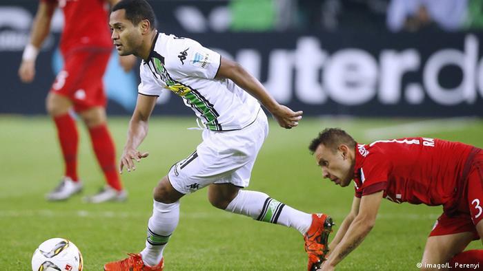 Spielszene Raffael von Borussia Mönchengladbach gegen Bayern München (Foto: imago/L. Perenyi)