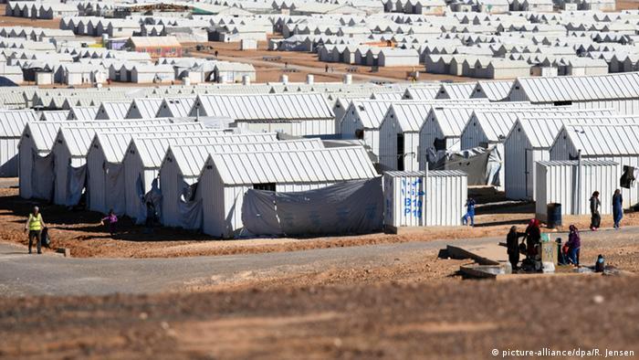 Symbolbild - Flüchtlingslager für Syrer in Jordanien