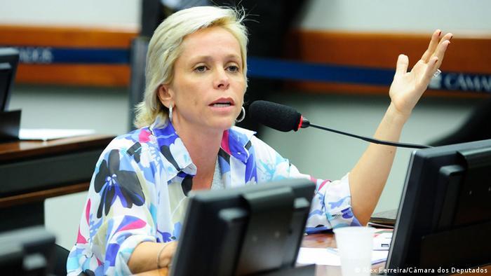 Brasilien, Cristiane Brasil (Alex Ferreira/Câmara dos Deputados)