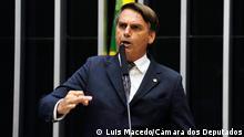 Brasilien Jair Bolsonaro Beschreibung: Der brasilianische Abgeordnete Jair Bolsonaro (PP). Copyright: Luis Macedo/Câmara dos Deputados
