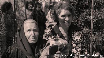 Bulgarien Vangelia Gushterova bekannt als Baba Wanga Hellseherin