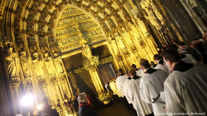 Главный портал Кельнского собора