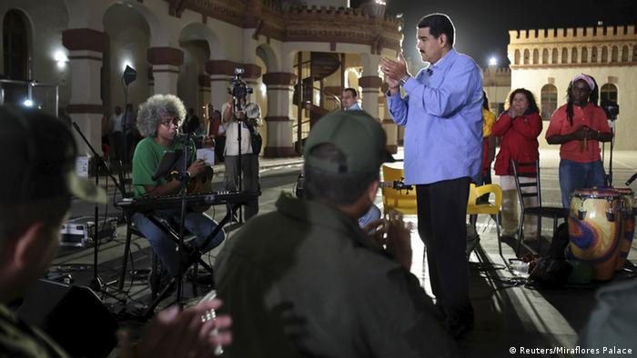 Venezuela Fernsehshow Nicolas Maduro