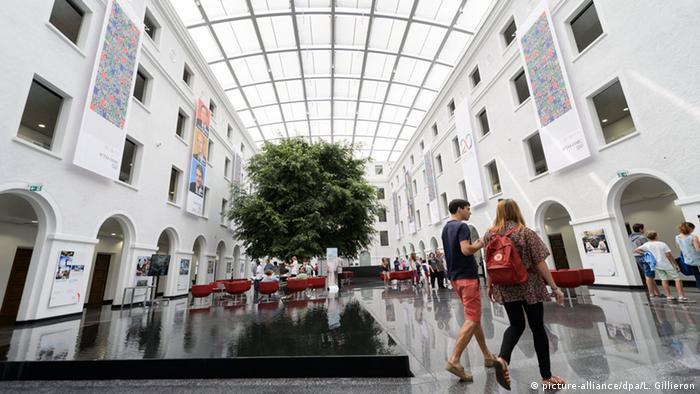 Schweiz Welthandelsorganisation WTO Hauptquartier in Genf