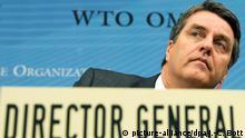 Schweiz Welthandelsorganisation WTO Roberto Azevedo
