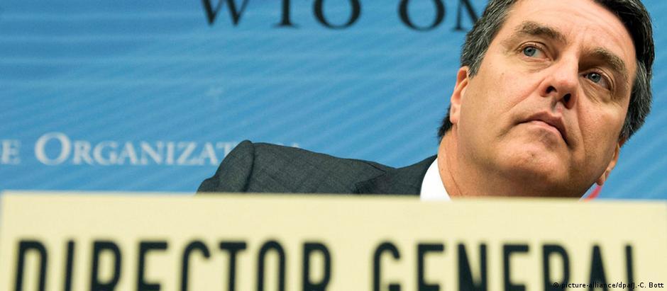 Azevêdo assumiu cargo em 2013