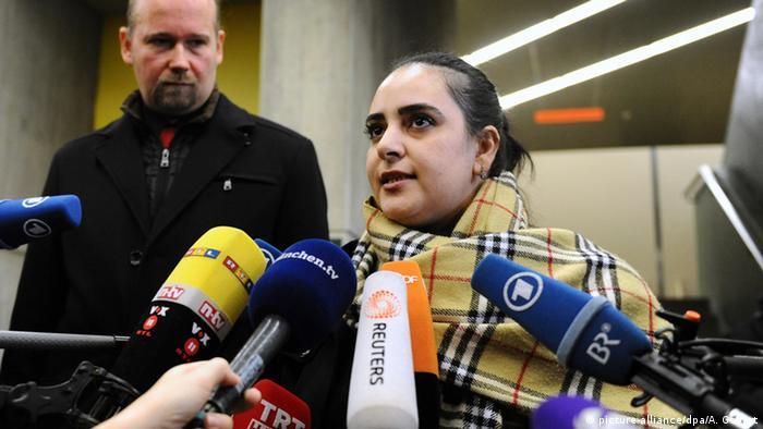 Deutschland NSU Prozess Nebenklägerin Gamze Kubasik in München