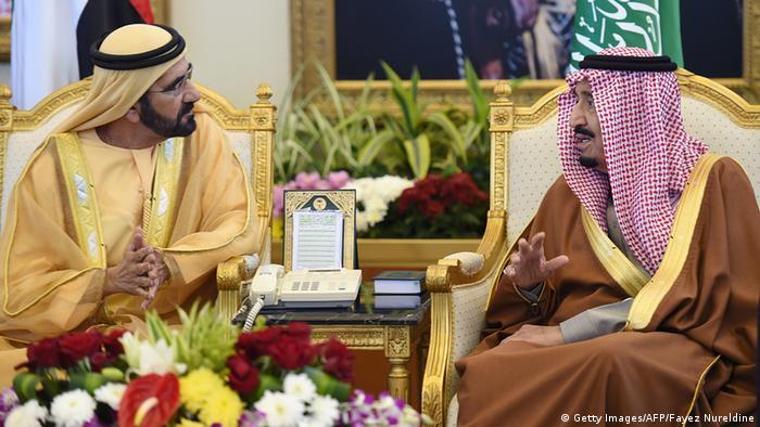 Saudi Arabien Gespräche 136th Golf Kooperationsrat GCC Themen Öl Syrien Yemen Salman bin Abdulaziz Sheikh Mohammed bin Rashid al-Maktoum