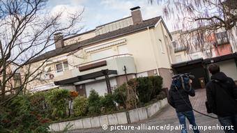 Deutschland Opfer einer Teufelsaustreibung gefunden Wohnhaus in Sulzbach